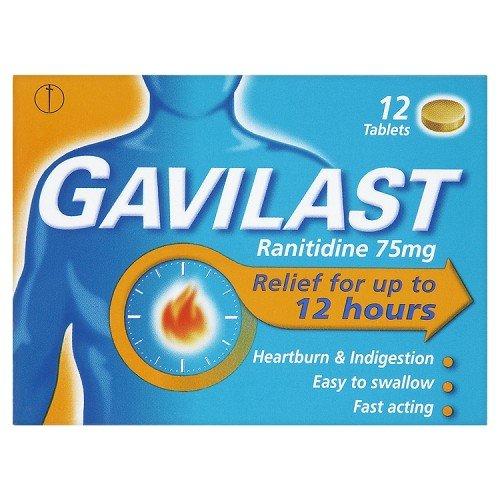 Gavilast tablets 12