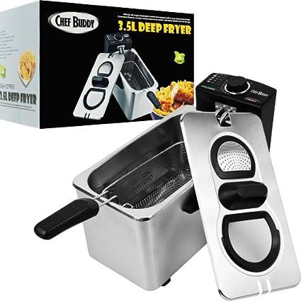 Chef-Buddy-82-DF35-Electric-Deep-Fryer