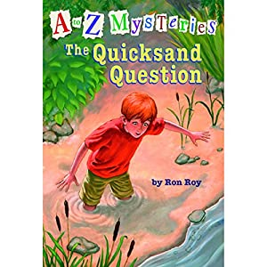 A to Z Mysteries #17: The Quicksand Question Audiobook