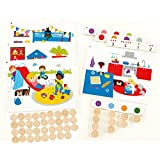 Hape Home Education - Find And Count Colors Board Game
