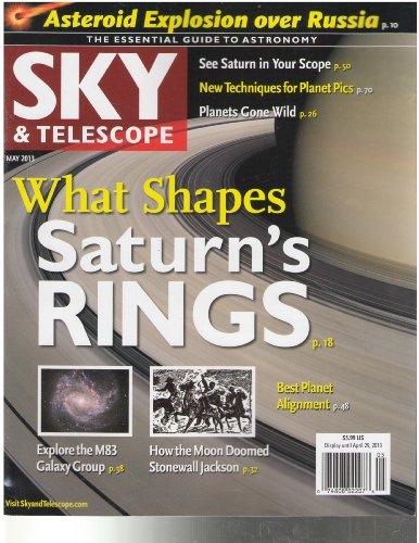 Sky & Telescope Magazine May 2013