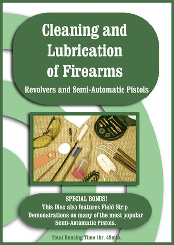 Gun Cleaning & Lubrication/Revolver/Semi-Auto DVD