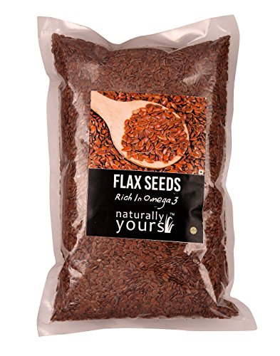 Naturally Yours Organic Flax Seed 500g For Rs. 135