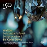 Walton: Belshazzar's Feast, Symphony No.1 (LSO/Davis)by William Walton
