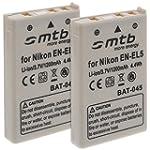 Lot de 2 batteries EN-EL5 pour Nikon...