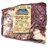 Organic Grass Fed Brisket Roast ONE (2 to 3 lb. Roast)
