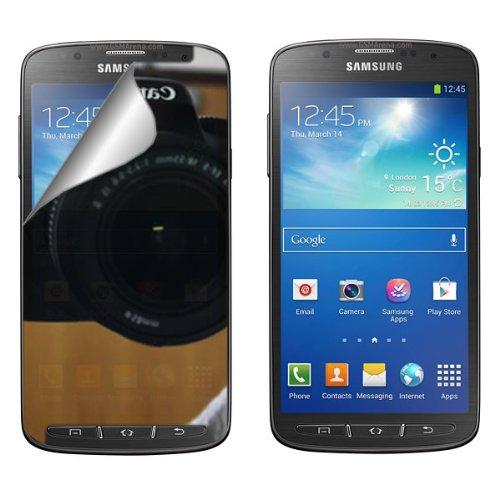 Coveron® Mirror Lcd Screen Protector Shield For Samsung Galaxy S 4 Active