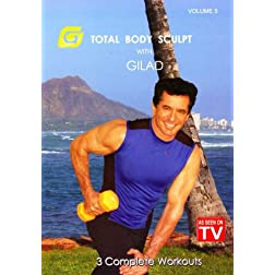Total Body Sculpt with Gilad, Volume 5