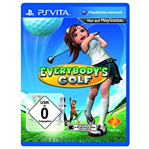 Everybody's Golf PlayStation Vita