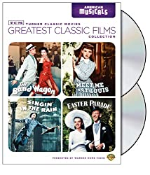 TCM Greatest Classic Films Collection: American Musicals (The Band Wagon / Meet Me in St. Louis / Singin' in the Rain / Easter Parade)