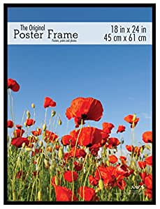 MCS 23834 18x24 Original Poster Frame in black with ...