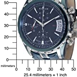 Edox Men's 01201 357B BUIN Chronograph Automatic Grand Ocean Watch