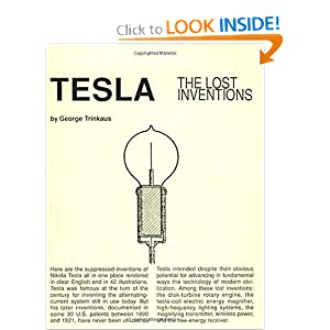 Click to buy Tesla : The Lost Inventions <b>Paperback</b> from Amazon!