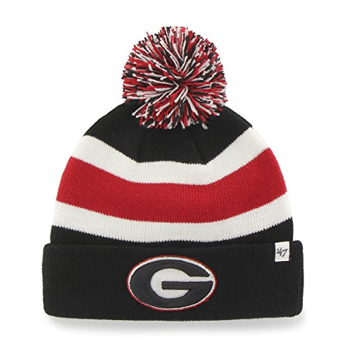 NCAA Georgia Bulldogs '47 Breakaway Cuff Knit Hat, One Size Fits Most, Black (Georgia Bulldogs Mens Hoodie compare prices)