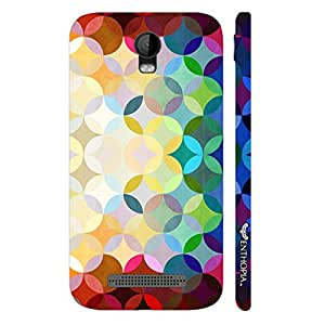 Micromax Bolt Q335 Colourful Petals designer mobile hard shell case by Enthopia