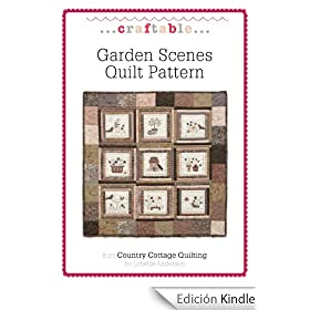 Garden Scenes Quilt Pattern (CraftAble)