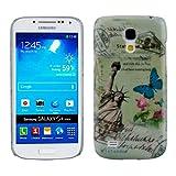 Kwmobile® Hard case City design (New York) for Samsung Galaxy S4 Mini i9190 / i9195 in White