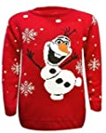 Kids Unisex Boys&Girls Olaf Frozen Re...