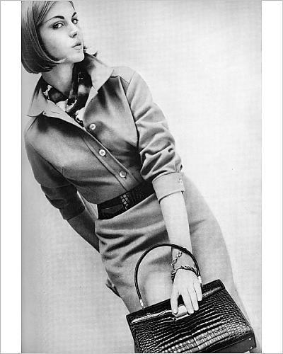 Photographic Print of Shirtwaister dress, 1962