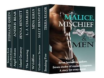 Malice, Mischief & Men (7 authors, 7 shades of Romantic Suspense) (English Edition)