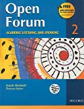 img - for Open Forum Student Book 2: with Audio CD book / textbook / text book
