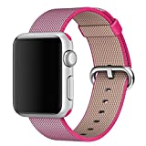 Apple Watch band Series 2 Series 1, Oitom Woven Nylon Watch Band Replacement Strap for Apple Watch 42mm/38mm