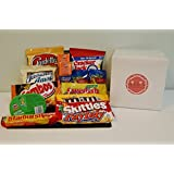 All Purpose Junk Food Candy Snacks Care Package - Great Halloween Gift for College Kids