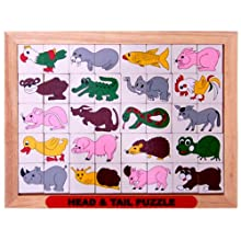 Little Genius Head And Tail Puzzle