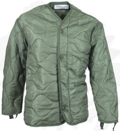 Field Jacket Liner, M-65, Olive Drab--Genuine Military Issue 0