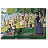 A Sunday Afternoon on the Island of La Grande Jatte - 1886 - Georges-Pierre Seurat - NEW Fine Arts Poster