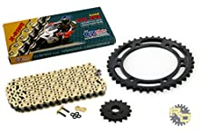buy 1987 1988 Yamaha Fzr-1000 530 Conv Cz Sdz Gold X-Ring Chain &Sprocket 17/46 110L