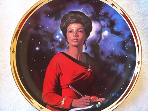 Uhura - Star Trek 25th Anniversary Commemorative Collection Plate
