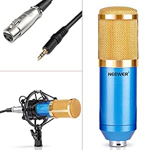 neewer nw 800 microphone micro condensateur professionel enregistrement studio radio kit. Black Bedroom Furniture Sets. Home Design Ideas