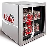 Diet Coke Mini Fridge 48ltr Official Branded Mini Fridge, Diet Coke Can Cooler
