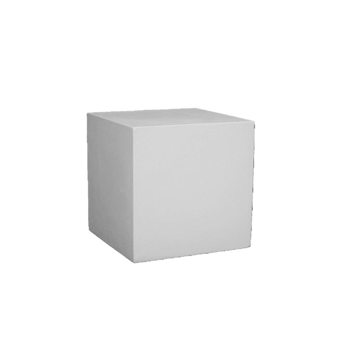 石膏像 几何形体 立方体 h.12.5cm