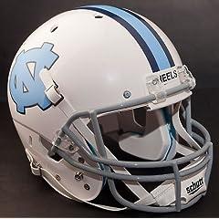 NORTH CAROLINA TAR HEELS 1963-1966 Schutt AiR XP Authentic GAMEDAY Football Helmet... by ON-FIELD