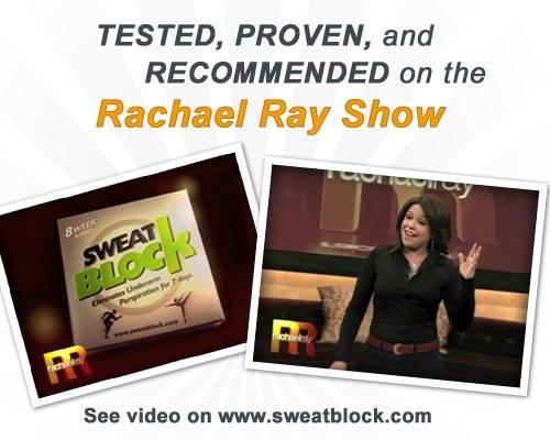 Imagen de SweatBlock Toallitas antitranspirantes - As Seen on Rachael Ray - Reducir el sudor hasta por 7 días por uso