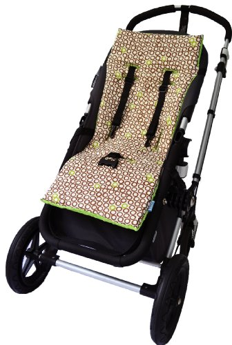 Tivoli Couture Nu Comfort Memory Foam Stroller Pad and Seat Liner, Recycle