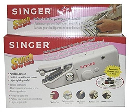 Singer Stitch Sew Quick, Hand Held Sewing Machine - 1 set, New, Free Shipping (Hand Sewing Machine As Seen On Tv compare prices)