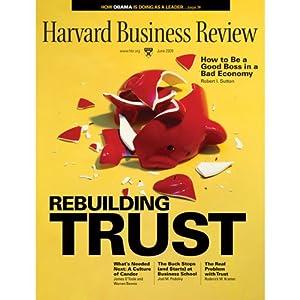 Harvard Business Review, June 2009 Periodical