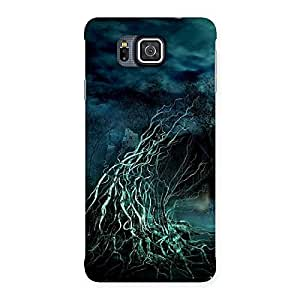 Delighted Horror Tree Multicolor Back Case Cover for Galaxy Alpha