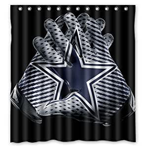 Exceptional Kitchen Bath Bathroom Accessories Shower Curtains Hooks Liners Shower . Dallas  Cowboys ...
