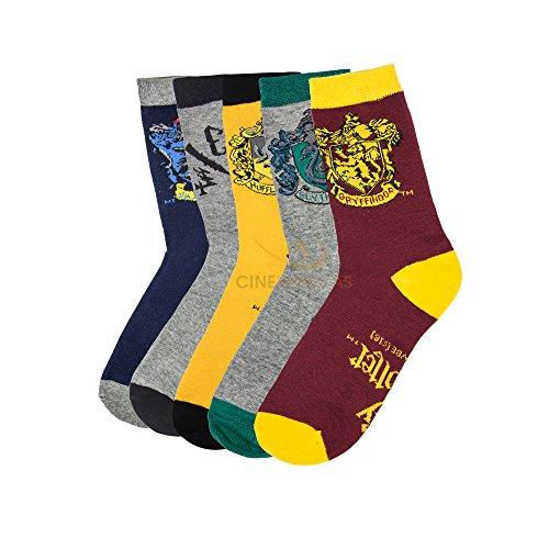 5 Paia di calzini Harry Potter - Cinereplicas®