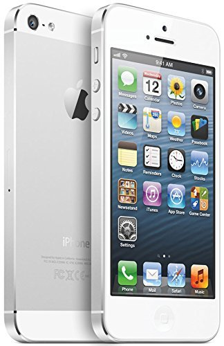 Bastex discount duty free Apple iPhone 5 - 64GB Unlocked - White (Certified Refurbished)