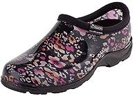 Sloggers SL5100 Women's Plastic Clog Floral Cheetah 9 M US