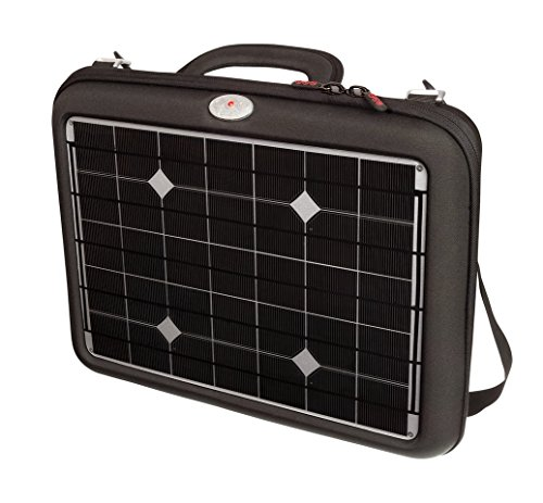 "Voltaic Systems 18.0W ""Generator"" 1024-S Portable Solar Briefcase Charger for Laptops, Tablets, and Phones with 20,000mAh/72Wh Battery Backup Bank with 5V/2A USB, and 12V/4A, 16V/3.5A, 19V/3A selectable outputs for Laptops, DSLR batteries, Apple, Sony, Toshiba, Asus, Samsung, Dell, iPhone, and iPad."
