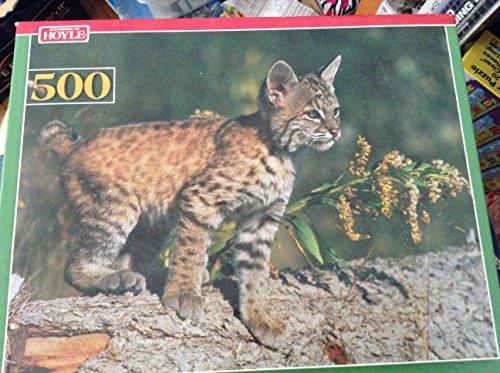 Bobcat Kitten Hoyle 500 Piece Jigsaw Puzzle