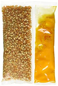 24-10.6 oz. Snap-Paks for 8 oz. Poppers - Yellow Popcorn, Coconut Oil, Buttery Flavored Salt