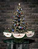 2.5' Pre-Lit Musical Snowing Artificial Christmas Tree - Polar White LED Lights