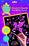 Scratch Art Magic Princess Pink Glitter Board